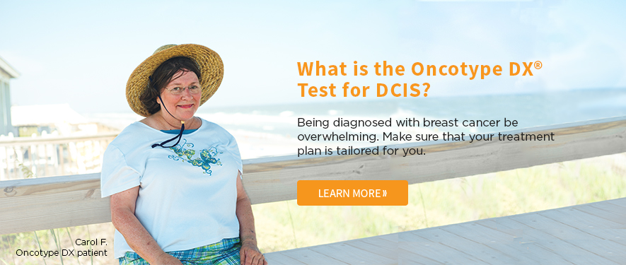 DCIS Breast Cancer Patient Carol